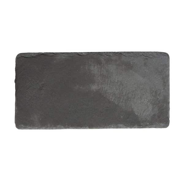 'Slate' Serving Board, made from pure Slate, and presented in (Slate) Grey. By Nicolas Vahé of Denmark