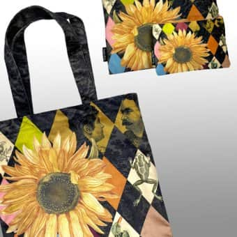 'Sunflower' Tote Bag, TOTE3C (45x60cm)