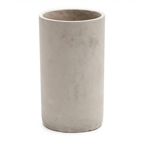 'Tabuk' Vase / Pot, hand-crafted made from Cement, and present in Grey. By Abigail Ahern