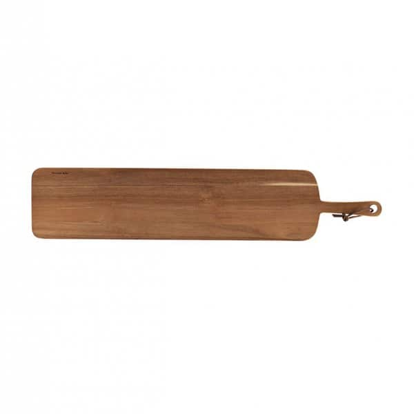 'Tapas' Cutting / Serving Board, made from Acacia Wood, and presented in its raw colour. By Nicolas Vahé of Denmark