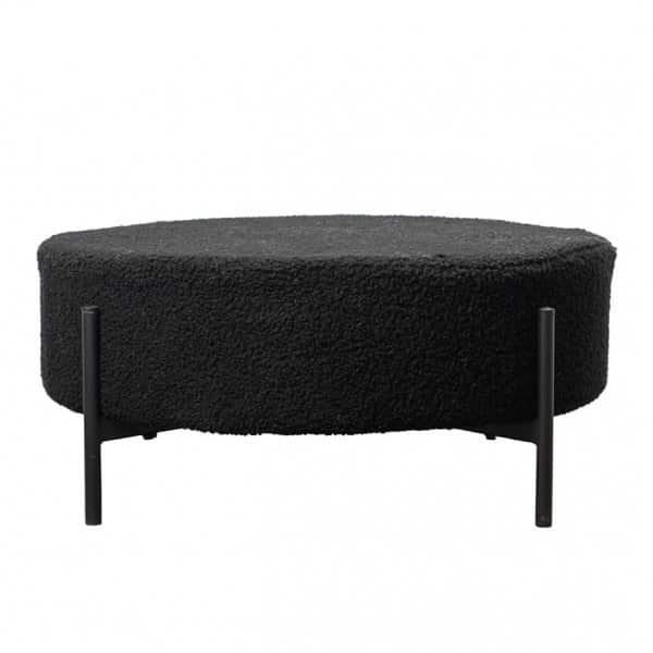 'Thea' Stool, presented in Black. By ON Interiör of Sweden