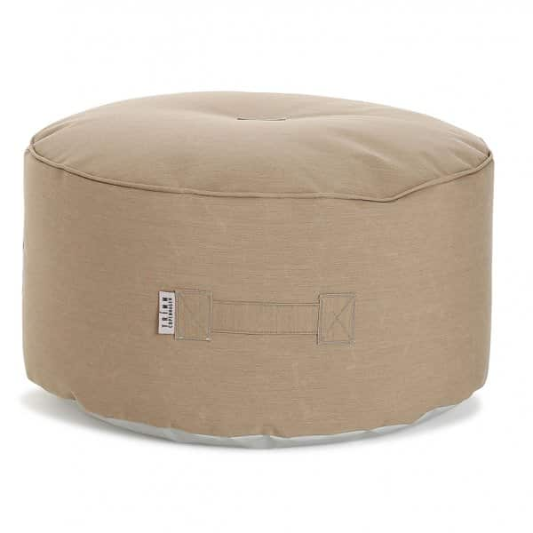 'Tiny Moon' multi-functional Pouf, made from Sunbrella Plus® Coated canvas, available in 4 colours. By TRIMM Copenhagen