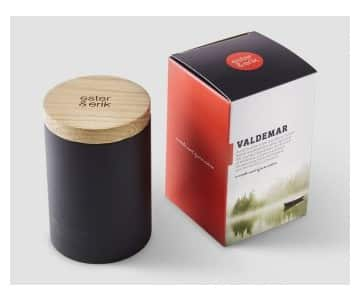 'Valdemar' Single Wick Scented Candle. By Ester & Erik of Denmark
