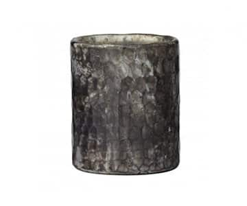 'Veronique' Glass Vase / Candle Votive in Steel Grey. By Lene Bjerre of Denmark