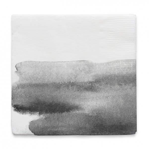 'Virgin' Paper Napkin with a Cloud print. By ON Interior of Sweden