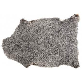 'Visby' - 100% Sheepskin in Grey / Natural. By Shepherd of Sweden