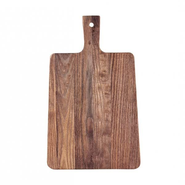 'Walnut' Chopping Board / Serving Plate, made from Brazilian walnut, presented naturally. By House Doctor