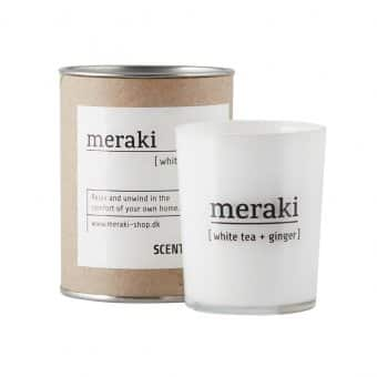 'White Tea & Ginger'' Scented Candle (H:6.7cm)